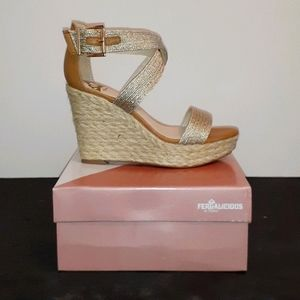 Fergalicious Maxi Wedges NEW IN BOX